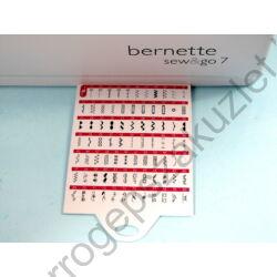 Bernette Sew Go 7programfül
