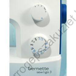 Bernette Sew Go 3 kezelő gombok