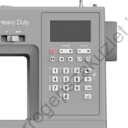 SINGER 6805  Heavy Duty  kijelző