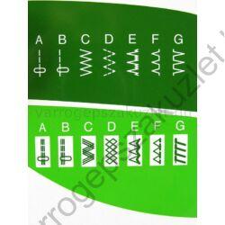Elna 1000 Sew Green varrógép 1