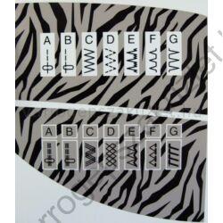 Elna 1000 Sew Zebra varrógép 1
