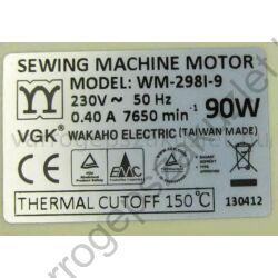 Merrylock 90w-os motor, szíjtárcsa nélkül - WM-2981-9 4