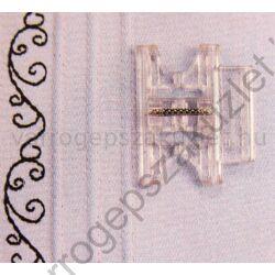 Pfaff 6mm széles  barázdás díszítő talp 93-036942-91 1