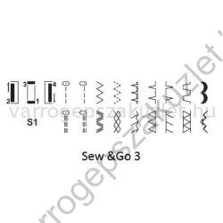Bernette Sew  Go 3 varrógép 1