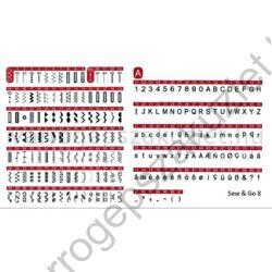 Bernette Sew Go 8 elektronikus varrógép 2