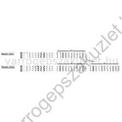 SINGER 3221 Simple varrógép 3