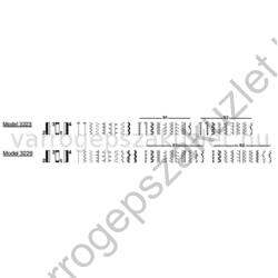 SINGER 3229 Simple varrógép 1