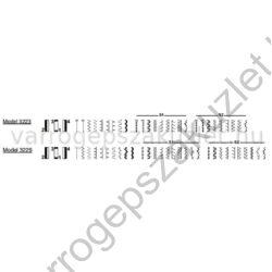 SINGER 3223 Simple varrógép 9