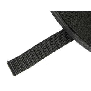 20 mm széles heveder - fekete