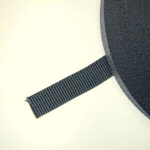 20 mm széles sötét szürke heveder