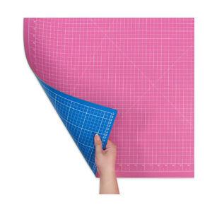 Donwei 45 x 30 cm vágólap - DW-12123 AC pink / türkisz