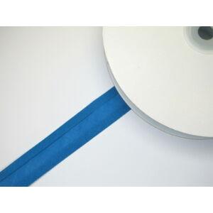 Pamut ferdepánt 20 mm  - kék 7083   - 25 méter