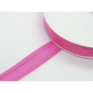Pamut ferdepánt 20 mm  - rózsaszínű 7044     - 25 méter