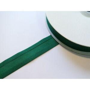Pamut ferdepánt 20 mm - zöld 7058 - 25 méter