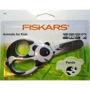 Fiskars 1382 panda macis gyerekolló - 1004613