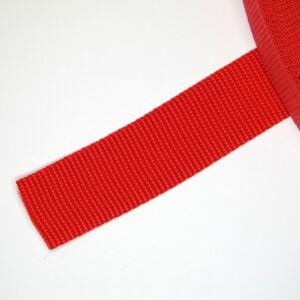 30 mm széles heveder - piros  (820)