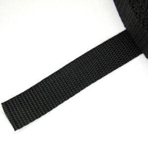 30 mm széles fekete heveder