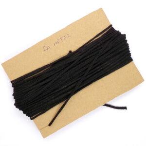 Kalapgumi 2 mm széles, fekete
