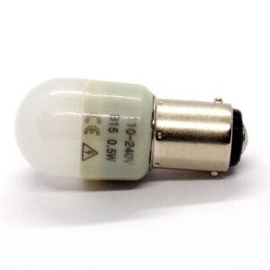 B15 LED 0,5W bajonettzáras világítás