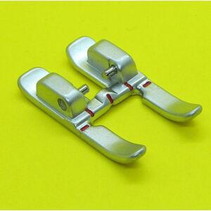 Nyitott lábujjú Pfaff 9 mm széles IDT fém cikcakk talp  - 820213096