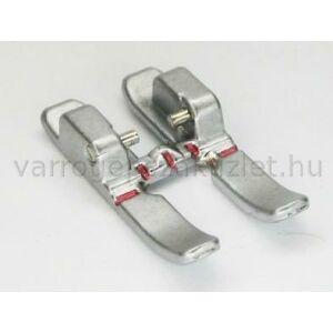 Nyitott lábujjú Pfaff 6mm széles IDT fém cikcakk talp  - 93-036931-91