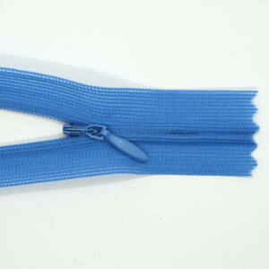 Rejtett cipzár 60 cm - farmer kék -