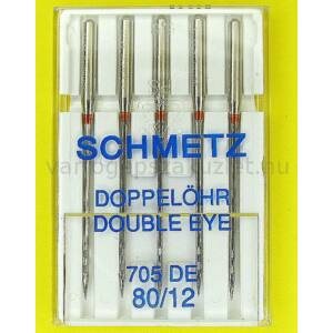 705H-DE dupla lyukú tű Schmetz