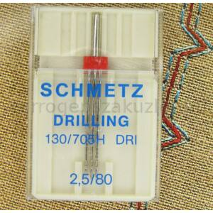 705H DRI  - hármas ikertű  - 2,5/80 Schmetz 0