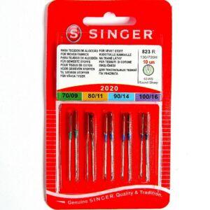 2020 Singer  vegyes 10db tű - 823R