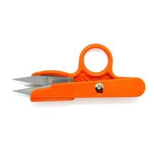Szálazó olló - narancs sárga - TC101