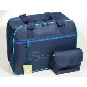 Varrógép táska - kék