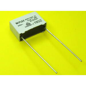 Zavarszűrő kondenzátor indító pedálhoz