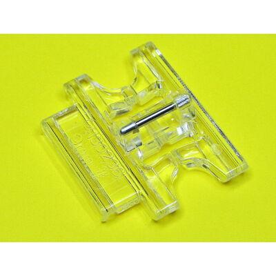 Pfaff 6mm széles  barázdás díszítő talp 93-036942-91