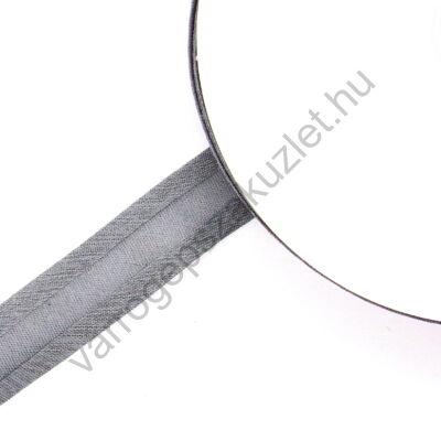 Pamut ferdepánt 20 mm  - középszürke 7096 - 25 méter