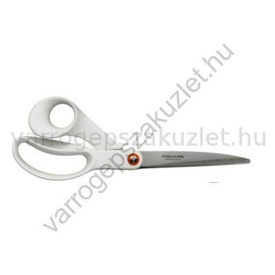 Fiskars színes 21cm  általános olló - fehér ( 839951 ) 1