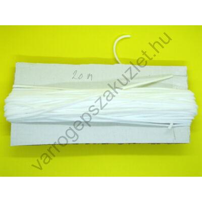 Kalapgumi 2 mm széles lapos
