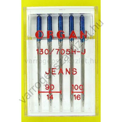 705H Jeans tű  Organ