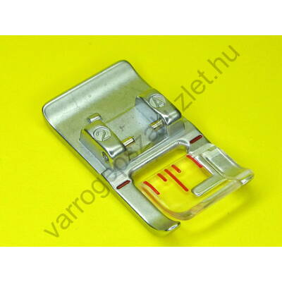 Pfaff  9mm széles fém cikcakk talp 93-036922-91
