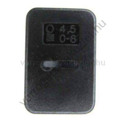 Pfaff 4,5mm széles lyukkészítő lap -820238096