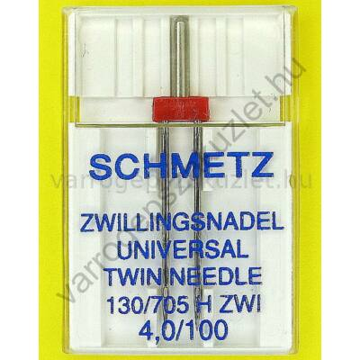 705H normál ikertű 100/4.0 mm Schmetz 0