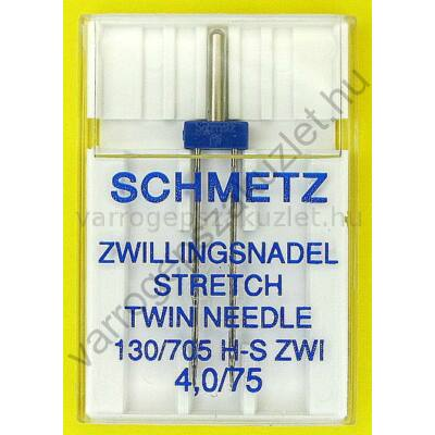 705H stretch ikertű 75/4.0 mm Schmetz 0
