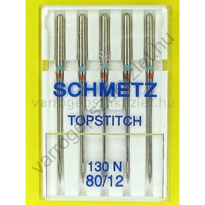 130N (705H) Topstich - hosszúlyukú tű  Schmetz