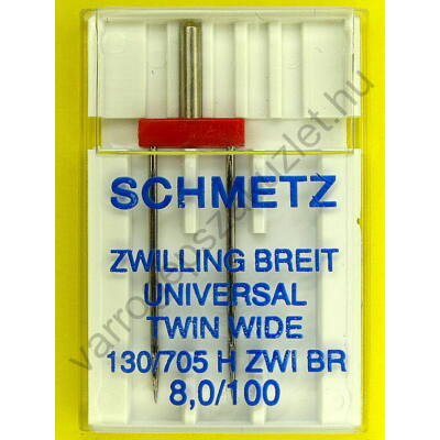Schmetz 705H  8mm széles ikertű