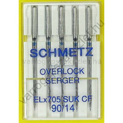 ELx705H overlock tű  - rugalmas anyagokhoz  - Schmetz 1